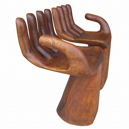 Hand Shaped Chairs L Hand Chair
