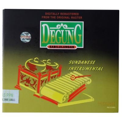 DEGUNG SABILULUNGAN SUNDANESE INSTRUMENTAL バリ島音楽CD デゴン音楽CD 【メール便】