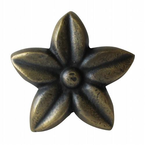 ハワイアン雑貨 フランジパニ 引き出し つまみ 取っ手 ブラス 金具 レトロ ビンテージ アイアン 鉄 新作製品、世界最高品質人気! HANDLE メール便OK プルメリアの花 BRASS 真鍮製 DIY アンティーク調 ハンドル N-098 付与 家具の取っ手