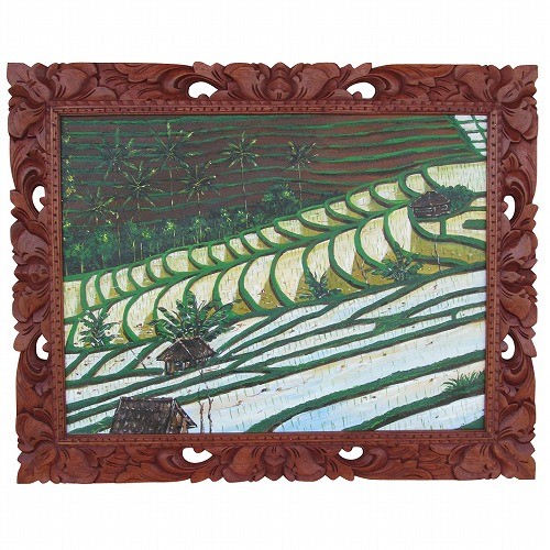 ライステラス バリ島の風景画 100X80