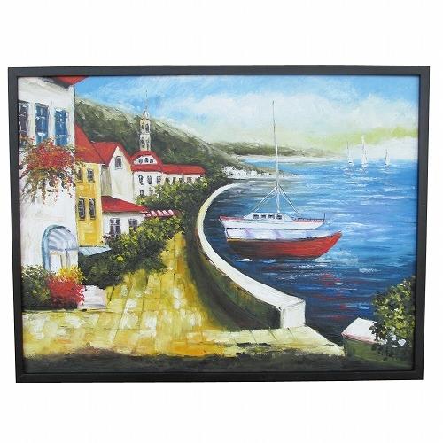 海辺の教会とヨットの絵 83X63 モダンアート 風景画 モダンアート 風景画 83X63, フィッシングショップ風月堂:71bbe942 --- officewill.xsrv.jp