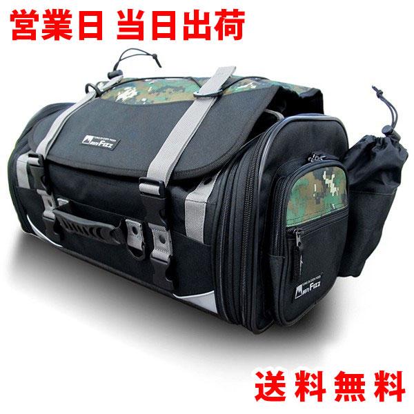 容量 40L(最大) TANAX/タナックス MOTOFIZZ/モトフィズ バイク ツーリングバッグ ミドルフィールドシートバック デジタルカモフラージュ柄/MFK-233C【日帰り ツーリング バッグ カバン 鞄 オートバイ ツーリングバック シートバック】
