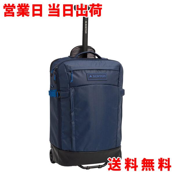 【エントリーでポイント最大39倍】Burton バートン MULTIPATH CARRY-ON TRAVEL BAG DRESS BLUE COATED FW20 キャリーバッグ 40L スーツケース 旅行 21341100400 プレゼント ホワイトデー ホワイトデイ