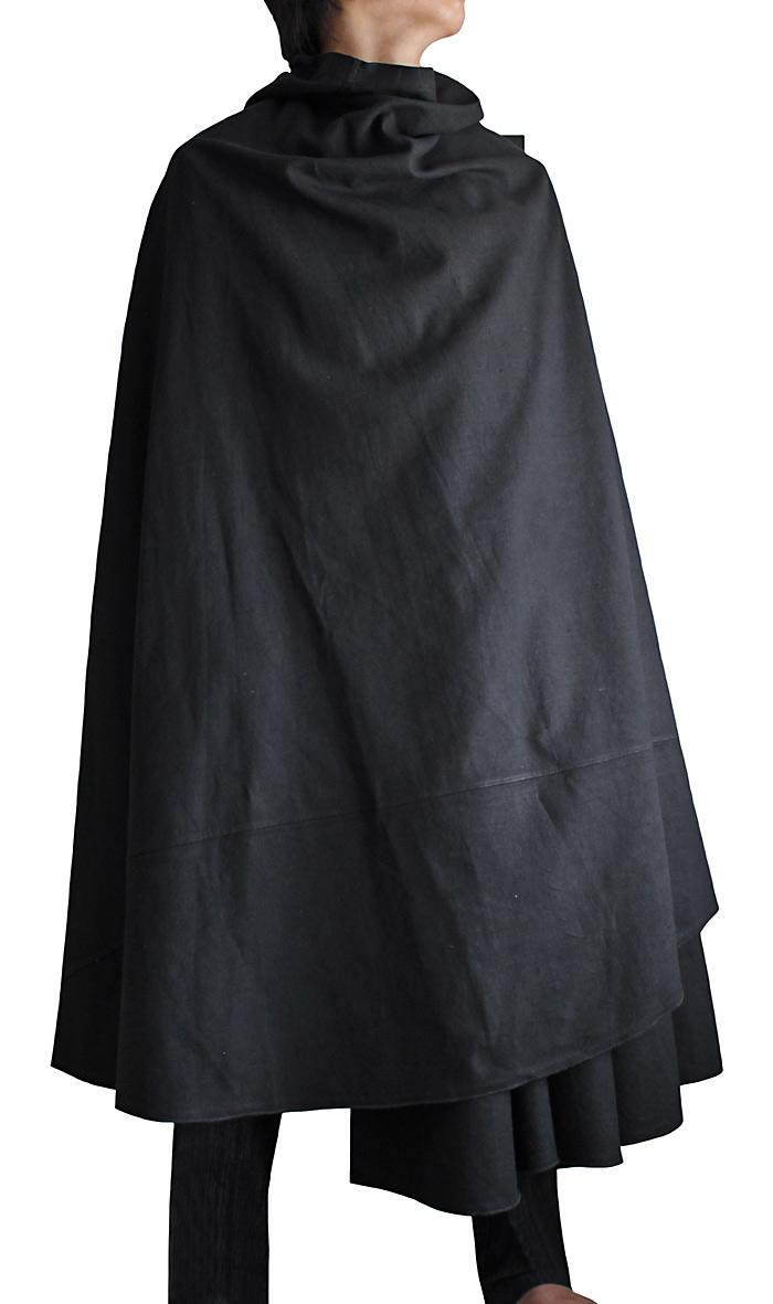 『1年保証』 ヘンプの袈裟マント(黒・Mサイズ):さわんアジア衣料雑貨店, ホクダンチョウ:3be90a8d --- nagari.or.id