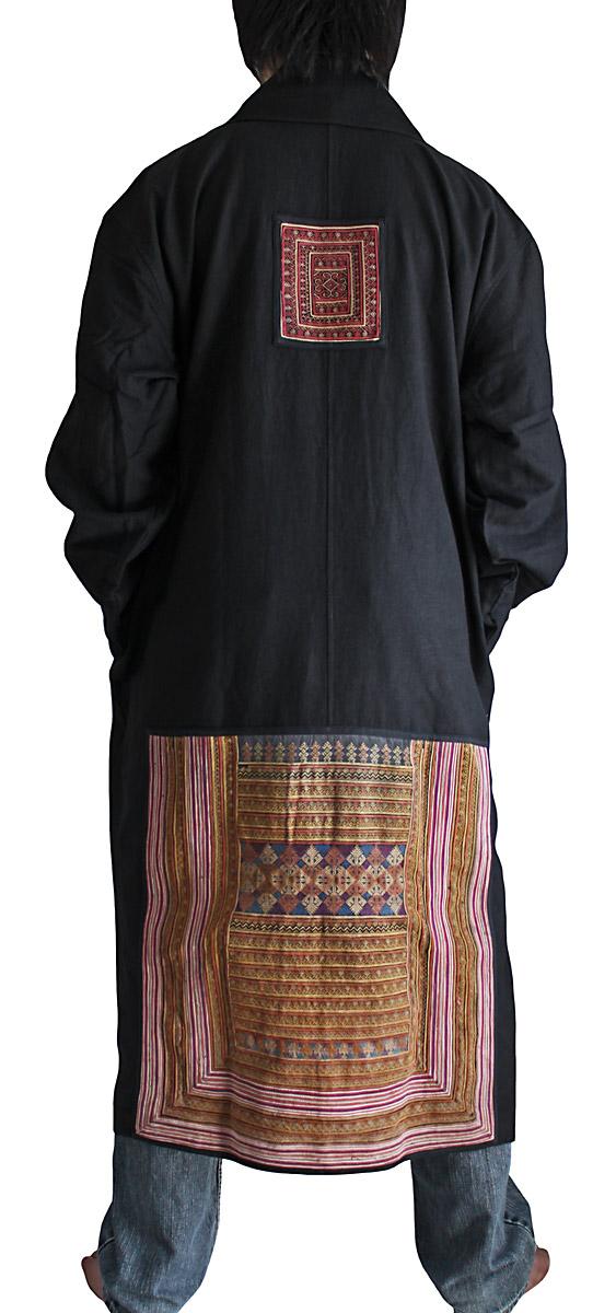 最愛 ヤオ(ザオ)古布使いのヘンプのローブコート:さわんアジア衣料雑貨店, タイヘイムラ:276afdd3 --- nagari.or.id