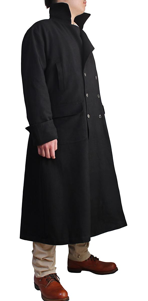좁톤수직면라이딩 코트(흑)