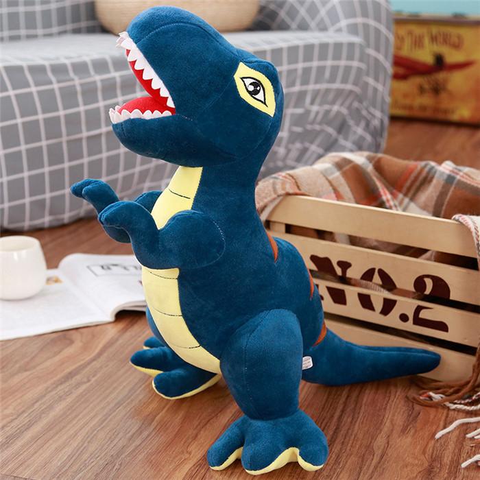 【送料無料】アニマル ぬいぐるみ 恐竜 ティラノサウルス おもちゃ 玩具 かわいい ゆるかわ 特大80cm プレゼント ギフト 子供 誕生日 クリスマス 巨大2色ありブルー グリン選択可能6サイズあり