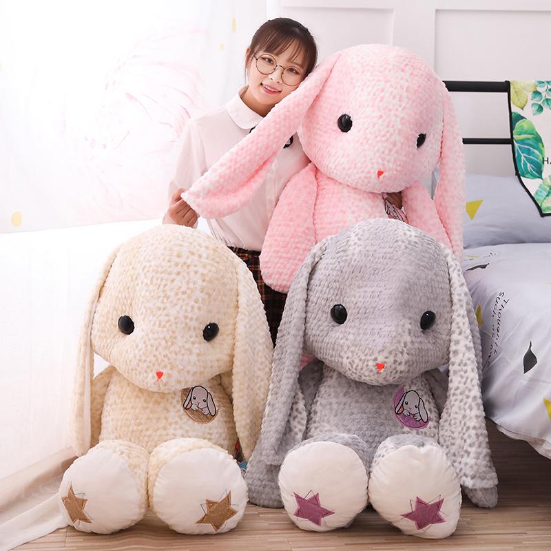 送料無料 ウサギのアニマルぬいぐるみです クッションや抱き枕として使ったり 小さいお子様や誕生日 クリスマスプレゼントにも最適です アニマル ぬいぐるみ 動物 ウサギ 兎 ピンク おトク イエロー オンラインショッピング グレー かわいい おしゃれ インテリア キッズ クッション プレゼント 子供 贈り物 クリスマス ラッピング お祝い ギフト 玩具 誕生日 出産祝い 抱き枕 ゆるかわ