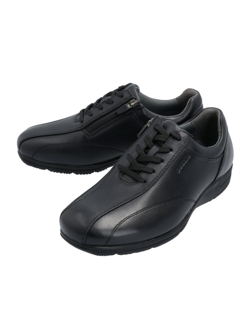 [Rakuten Fashion](M)PEDALA MS037C 4E asics アシックスウォーキング シューズ スニーカー/スリッポン ブラック【送料無料】