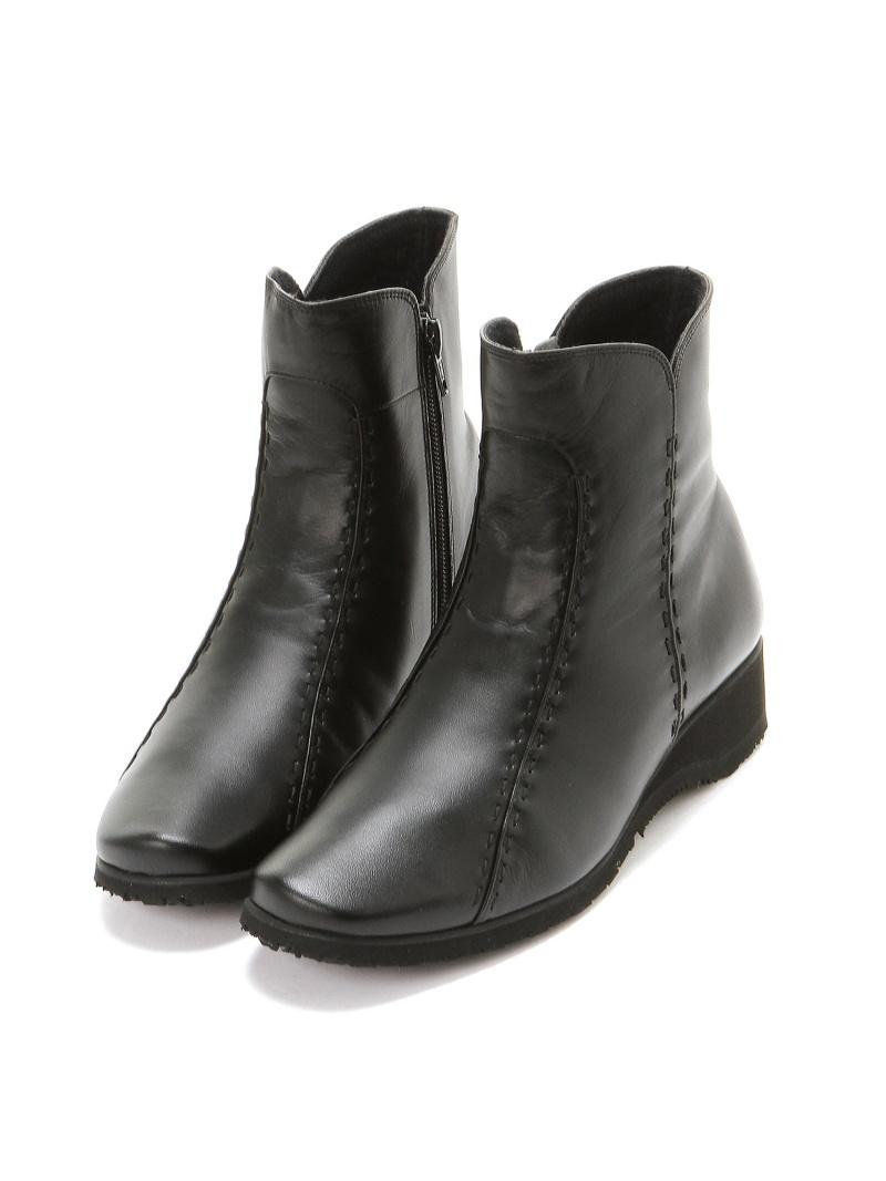[Rakuten Fashion]【レディース】(W)ペダラウォーキングシューズ/WPT688 ブラック asics/PEDALA アシックスウォーキング シューズ ショートブーツ/ブーティー ブラック【送料無料】