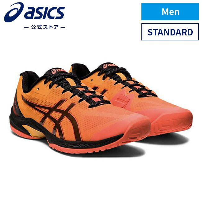 ASICS公式 COURT SPEED 送料無料カード決済可能 FF L.E. フラッシュコーラル ブラック 1041a155 スポーツシューズ オールコート テニス 700アシックス スニーカー 大決算セール メンズテニスシューズ 運動靴 コートスピード