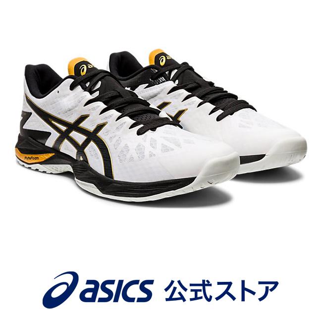 V-SWIFT FF 2 WHITE/BLACK1053A017 100 アシックス ASICS Vスウィフト スポーツシューズ バレーボールシューズ メンズ レディースインソール 運動靴 ローカット ホワイト 白
