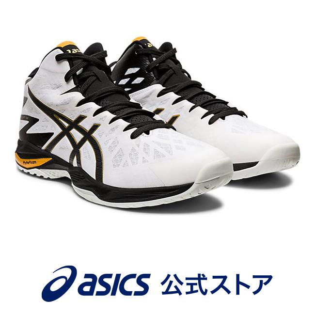 V-SWIFT FF MT 2 WHITE/BLACK1053A026 100 アシックス ASICS Vスウィフト スポーツシューズ バレーボールシューズ メンズ レディースインソール 運動靴 ミドルカット ホワイト 白
