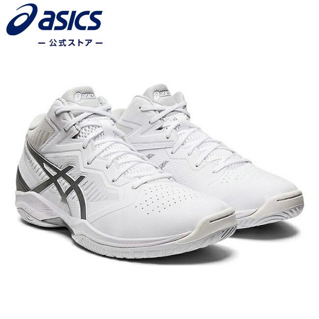 ASICS公式 贈答 GELHOOP V12 WHITE PURE SILVER 1063a020 101アシックス スポーツシューズ メンズ 運動靴 送料無料激安祭 バスケットボール バッシュ ゲルフープ スニーカー レディースバスケットシューズ
