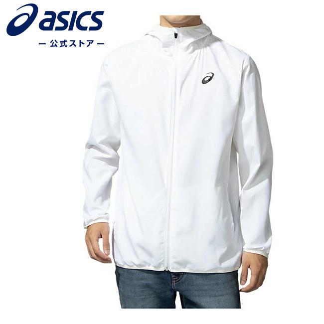 返品送料無料 ASICS公式 パッカブルウインドジャケット ホワイト 2031B415 100 アシックス ASICS ピステ ウィンドブレーカ 毎日がバーゲンセール 東京2020公式ライセンス商品 トレーニングウェア 男女兼用