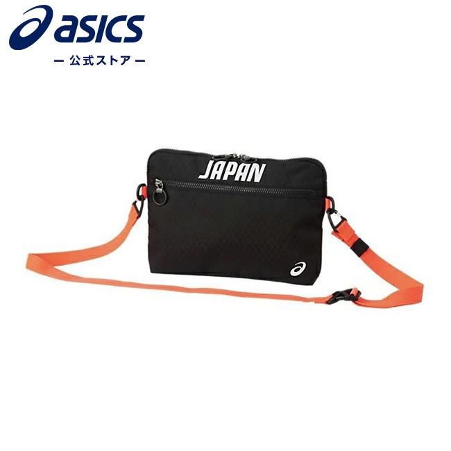 在庫処分 ASICS公式 Sub Bag JOC EMBLEM Black 入手困難 3033a933 001アシックス レディース メンズ ポーチ バッグ ケース トレーニング JOC公式ライセンス商品