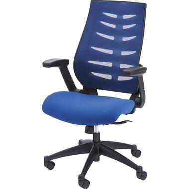オフィスチェア [ブルー]OFC-21BL