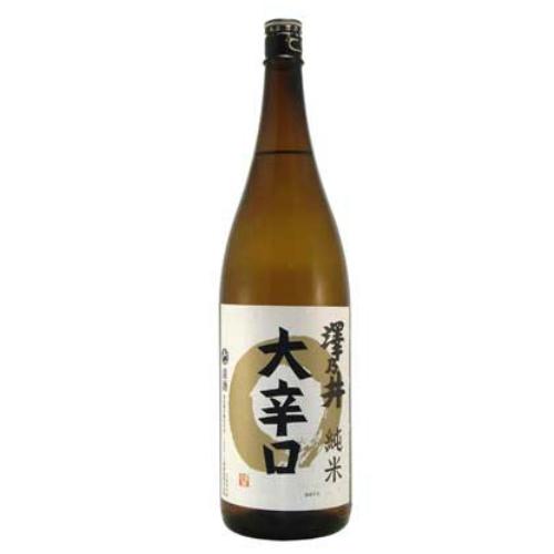 300年続く東京の老舗蔵のお酒 地方の方への贈答品に好評 ご予約品 キレの良い本格的な辛口 飲まれた事の無い方は一度お試しあれ 1800ml 倉 澤乃井 純米大辛口