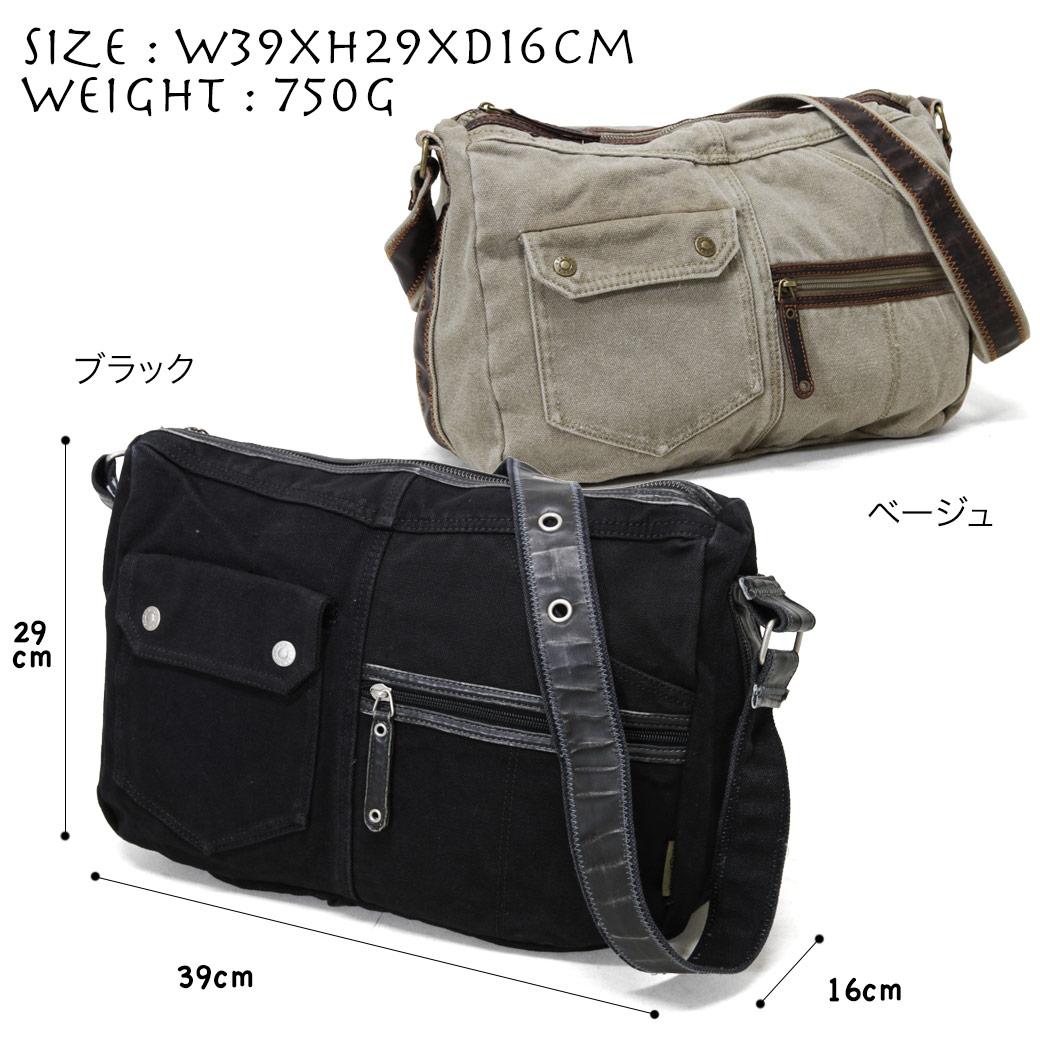 숄더백 맨즈 GRAND STONE 그랜드 돌 OUNCE 온스경사 겨냥해 가방 어깨걸이 범포 A4가로형 경량 맨즈 가방 가방 브랜드 랭킹 선물 기프트 15배