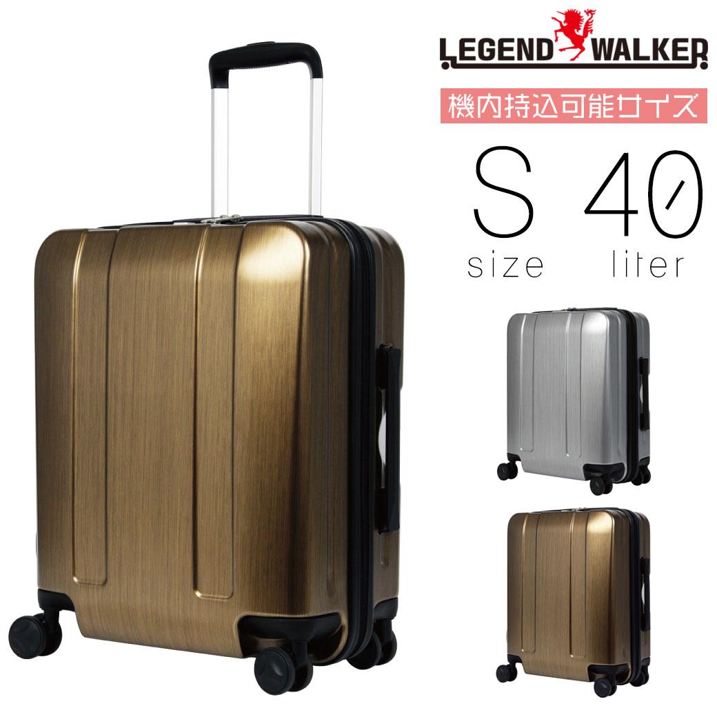 【ポイント12倍&割引クーポン発行中】 スーツケース キャリーケース メンズ Legend Walker レジェンドウォーカー HARD CASE ハードケース キャリーバッグ 旅行 出張 ポリカーボネート TSAロック 4輪 機内持ち込み メンズバッグ q39bG12 (5087-48)