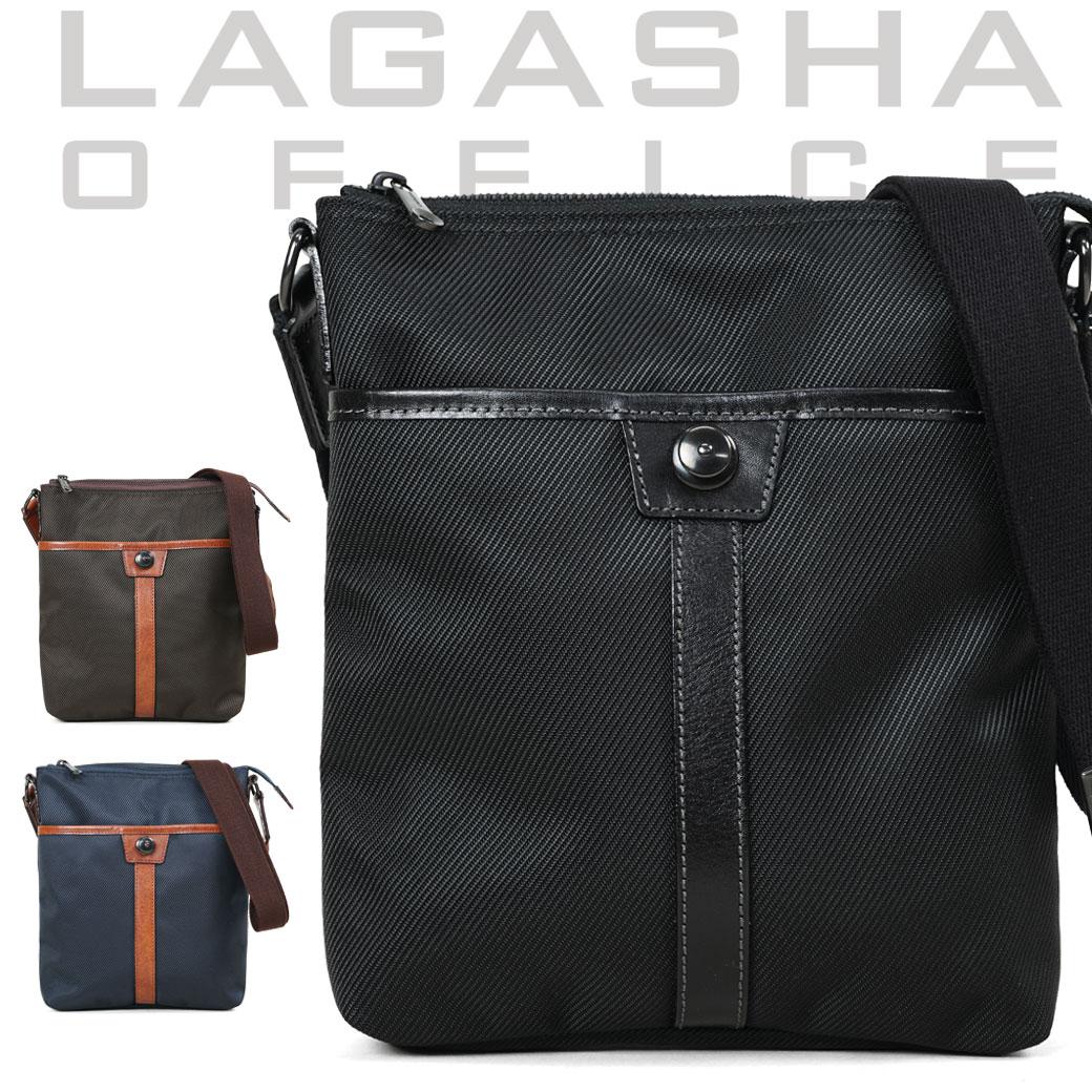 ショルダーバッグ ビジネスバッグ メンズ Lagasha ラガシャ MOVE ムーブ 通勤 通学 斜めがけバッグ 肩がけ メンズバッグ 通勤バッグ 日本製 7141 ブランド ランキング プレゼント ギフト q87zC07 (7141)