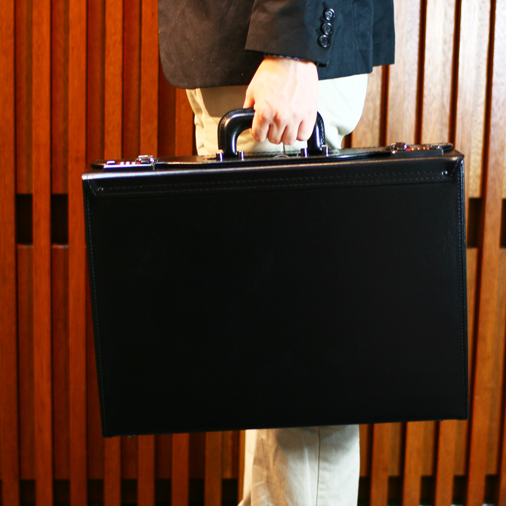 【すぐに使える割引クーポン発行中!】アタッシュケース ビジネスバッグ メンズ アタッシュ 合成皮革 A3 横型 日本製 メンズバッグ バッグ ブランド ランキング プレゼント ギフト