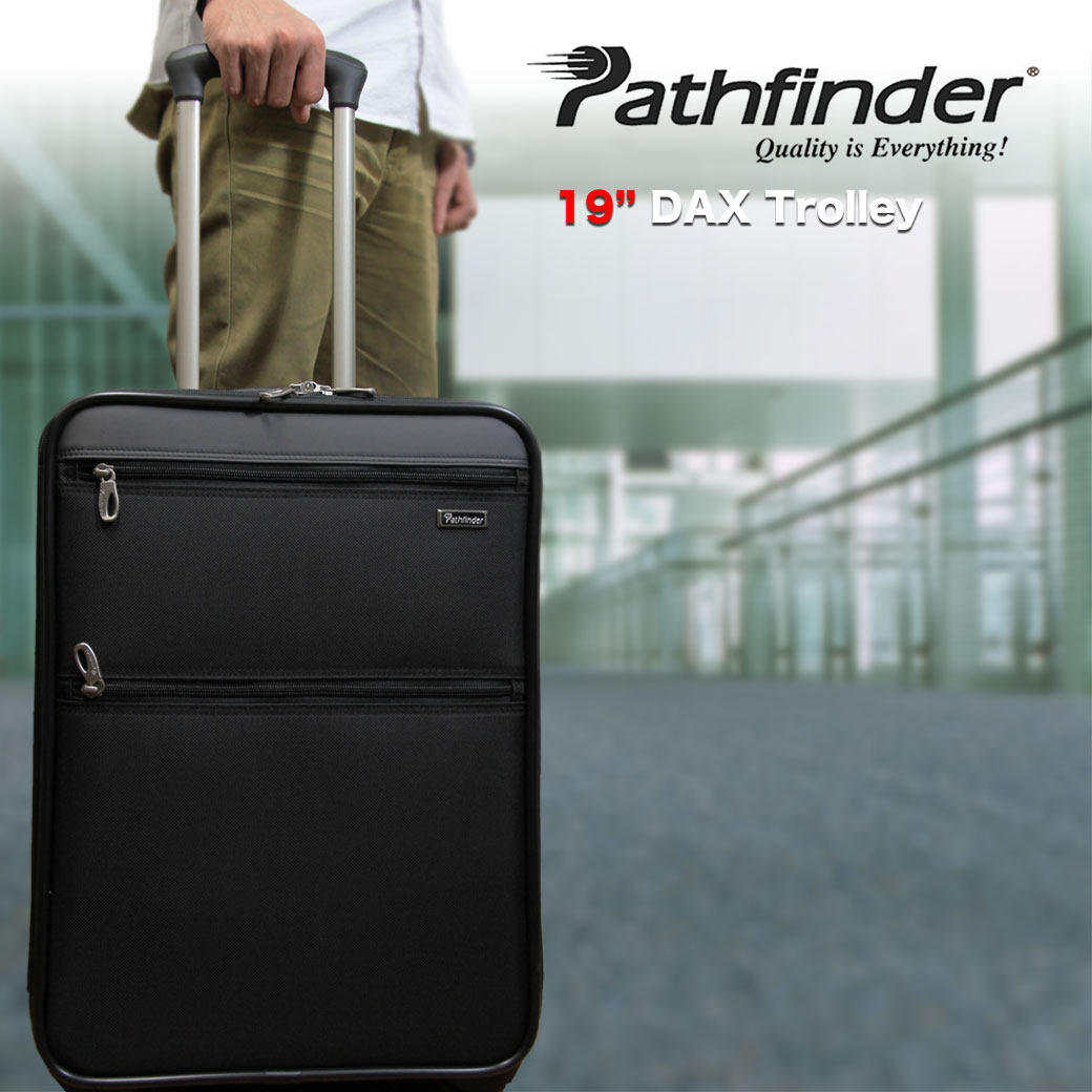 【ポイント10倍中】 スーツケース キャリーケース メンズ Pathfinder パスファインダー Revolution XT レボリューションXT キャリーバッグ 旅行 出張 ナイロン TSAロック 2輪 機内持ち込み メンズバッグ q39bG12 (pf6819daxb)