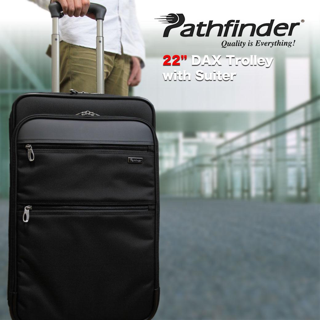 【ポイント10倍&割引クーポン発行中】 スーツケース キャリーケース メンズ Pathfinder パスファインダー Revolution XT レボリューションXT キャリーバッグ 旅行 出張 ナイロン TSAロック 2輪 メンズバッグ ブランド q39bG12 (pf6822daxb) 送料無料