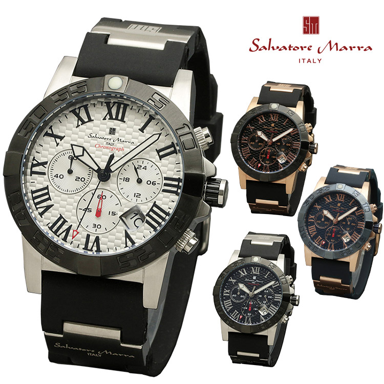 【SS限定クーポンあり】腕時計 Salvatore Marra SM18118 メンズ 腕時計 サルバトーレマーラ クロノグラフ 時計 クォーツ ビジネス カジュアル 通販 父の日