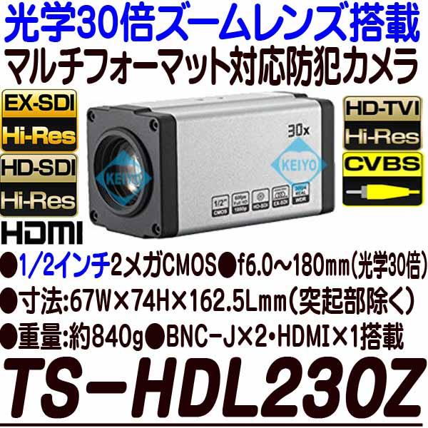 TS-HDL230Z【光学30倍ズームレンズ搭載1/2インチ低照度HD-SDI/EX-SDI方式対応カメラ】 【防犯カメラ】 【監視カメラ】 【3D Corporation】 【スリーディ】 【送料無料】