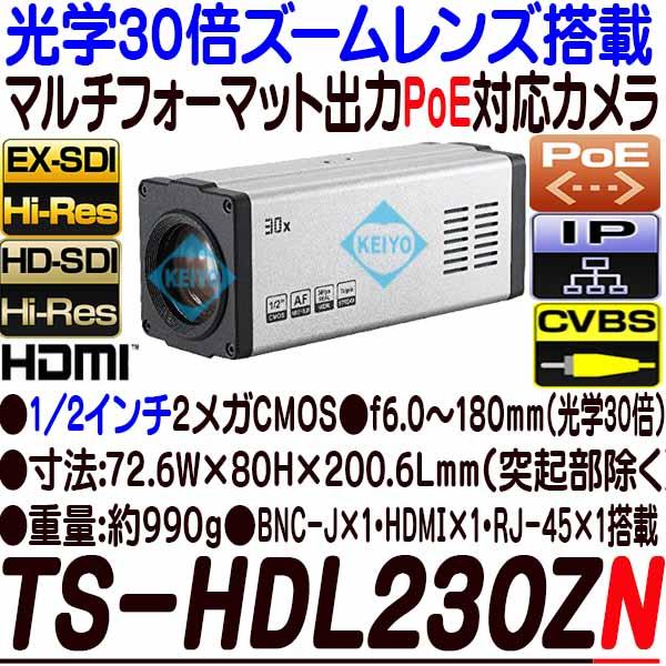 TS-HDL230ZN【光学30倍ズームレンズ搭載1/2インチ低照度HD-SDI/EX-SDI・IP方式対応ハイブリッドカメラ】 【防犯カメラ】 【監視カメラ】 【3D Corporation】 【スリーディ】 【送料無料】