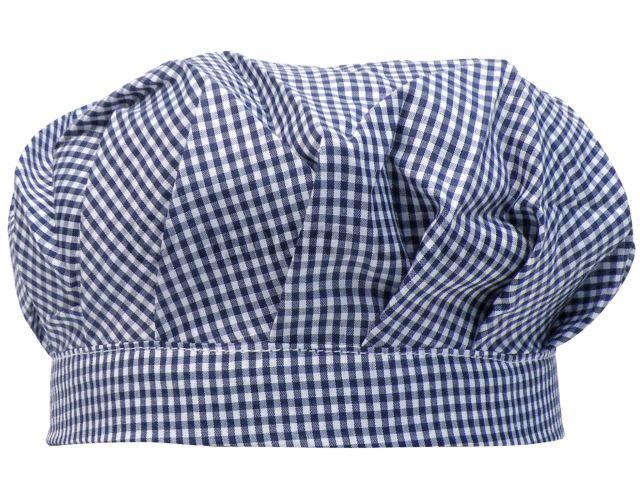学校用男女兼用ゴム入りギンガムチェック給食帽子☆全2色【あす楽対応_北海道】