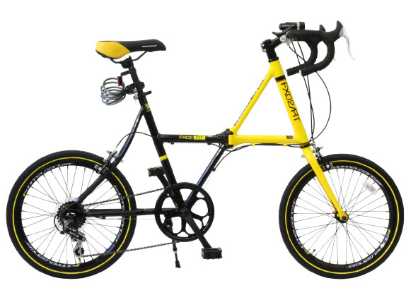 20 inch folding bicycle doppelganger DOPPELGANGER FX02 RT FX-02 RTR/RTY.