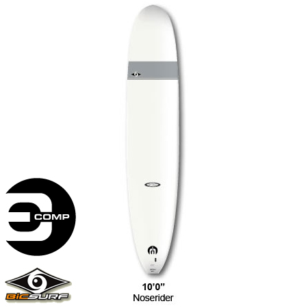 "'10 model BIC surfboards 10' 0 ""Noserider E-COMP GLOSS nose rider"