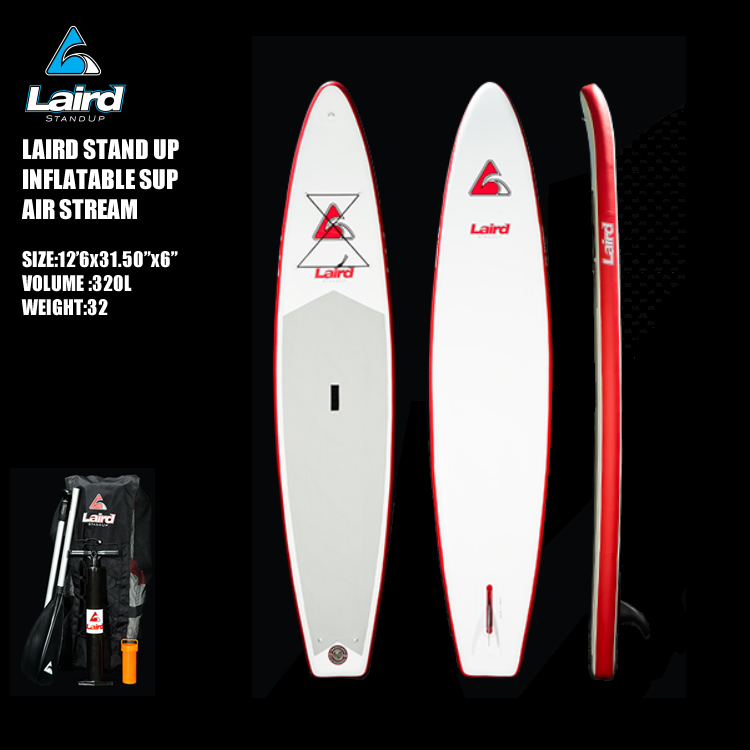 インフレータブル SUP Laird STAND UP Airstream 12'6