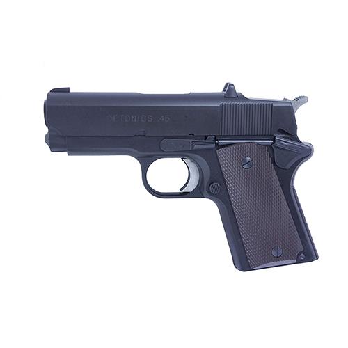 [対象年齢18歳以上] 発火モデルガン デトニクス.45 コンバットマスター ヘビーウエイト ブラック