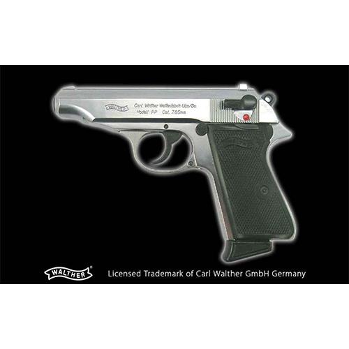 [対象年齢18歳以上] 発火モデルガン WALTHER/ワルサー PP ABS Silver