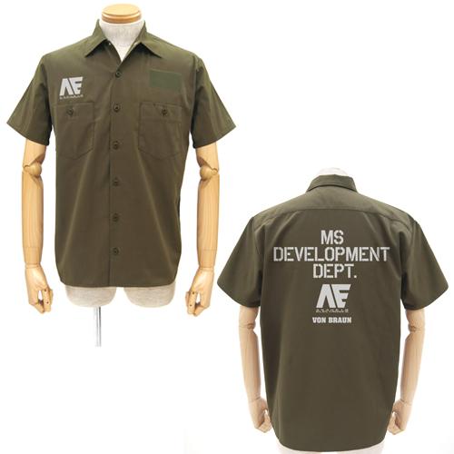 [COSPA] 機動戦士ガンダム 0204-0772 アナハイム・エレクトロニクス ワッペンベースワークシャツ/KHAKI-L コスパ