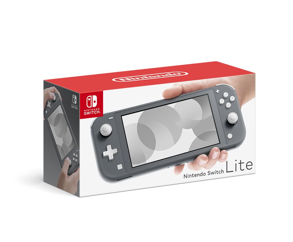 Nintendo SwitchLite グレー 任天堂