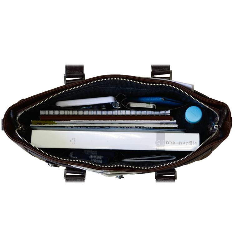ビジネスバッグ メンズ 本革 日本製 トート 高級 B4 AVECALDO アベカルド AV-H002