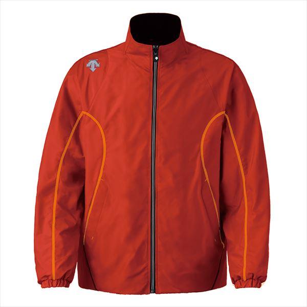 デサント エクスプラスサーモジャケット XAサイズ DTM-3912 TRO トゥルーレッド×オレンジ