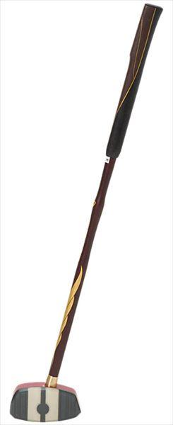 送料無料(※沖縄除く)[asics]アシックスグラウンドゴルフクラブGG ストロングショット ハイパー(3283A014)(600)レッド×ブラウン