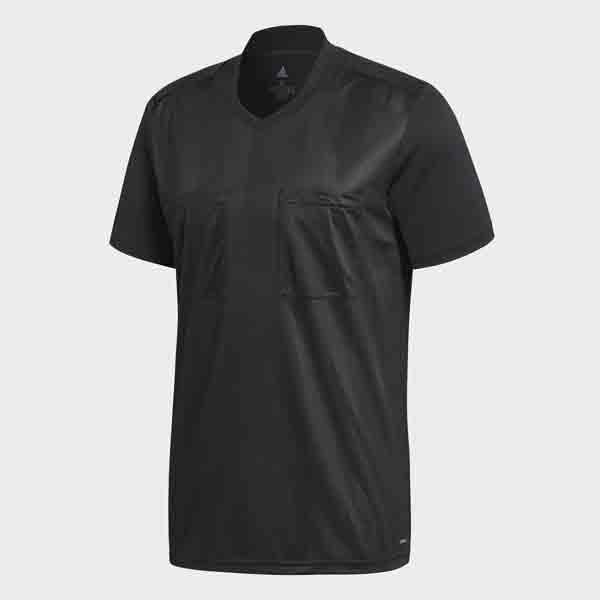 送料無料(※沖縄除く)[adidas]アディダスメンズ2018 レフェリージャージー 半袖(AJP-EBR17)(CF6213)ブラック