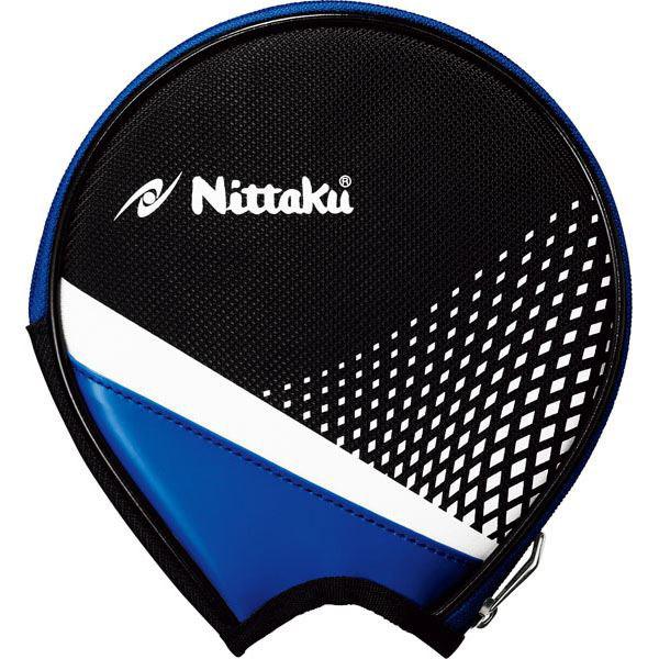 [Nittaku]ニッタク卓球ラケットケースストリームラウンド(NK-7217)(09)ブルー