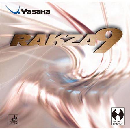 【メール便可】送料無料(※沖縄除く)[YASAKA]ヤサカ裏ソフトラバー『赤』ラクザ 9(B-80)(20)レッド