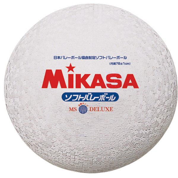 ソフトバレー ボール ミカサ 大注目 ソフトバレーボール 安心と信頼 糸巻タイプ 一般用 MS78DXW ホワイト