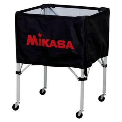 ミカサ ボールカゴ3点セット サイズS BC-SP-S BK ブラック