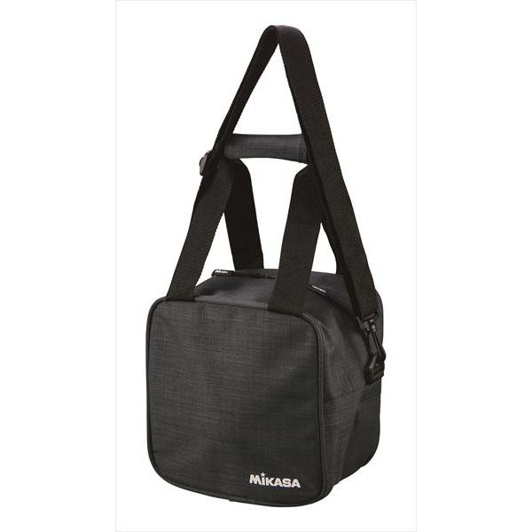 [MIKASA]ミカサバレー&サッカーボールバッグ1個入(AC-BGM10-BK)ブラック