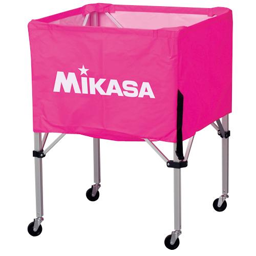 ミカサ ボールカゴ3点セット サイズS BC-SP-S P ピンク