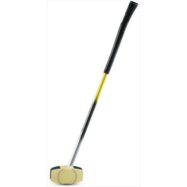 送料無料(※沖縄除く)[Hatachi]ハタチグラウンドゴルフクラブパワードリッジクラブ(BH2770)(45)イエロー
